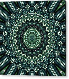 Kaleidoscope 10 Acrylic Print by Tom Druin
