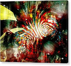 Kaleidoscope Acrylic Print by Anastasiya Malakhova