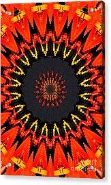 Kaleidoscope Aztec Acrylic Print
