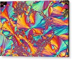 Kaleidoscope K Acrylic Print