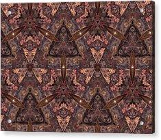 Kaleidoscope Acrylic Print by Michele Kaiser