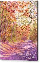 Kaleidoscope Morning Acrylic Print