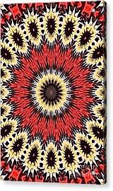 Kaleidoscope Torch Acrylic Print