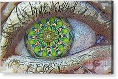 Kaleidoscopeeyeq Acrylic Print