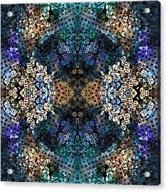 Kaleidoscopic 1 Acrylic Print by Gabour Demans