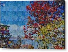 Kaleidoscopic Autumn Scene II Acrylic Print by Beverly Claire Kaiya