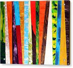 Kaleidoscopic Acrylic Print