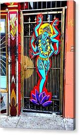 Kali In Color Acrylic Print
