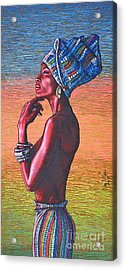 Kalimba De Luna Acrylic Print