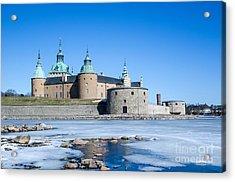 Acrylic Print featuring the photograph Kalmar Medieval Castle by Kennerth and Birgitta Kullman
