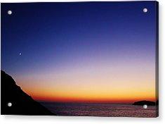 Kalymnos Greek Skies Acrylic Print