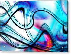 Acrylic Print featuring the digital art Kamasutra by Selke Boris