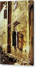 Kampot Lane Acrylic Print by Rick Piper Photography