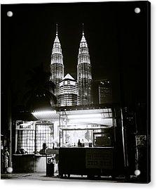 Kampung Baru Night Acrylic Print