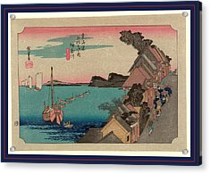 Kanagawa, Ando Between 1833 And 1836, Printed Later Acrylic Print by Utagawa Hiroshige Also And? Hiroshige (1797-1858), Japanese