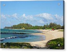 Kanaha Beach Park, Maui, Hawaii Acrylic Print by Douglas Peebles