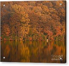 Kanawauke Lake Sundown Acrylic Print by Susan Candelario