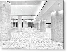 Kanazawa Underground Acrylic Print