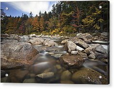 Kanc Colors Acrylic Print by Eric Gendron