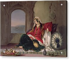 Kandahar Lady Of Rank Acrylic Print by James Rattray