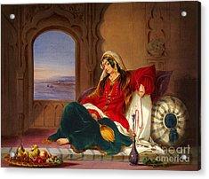 Kandahar Lady Of Ranks Acrylic Print by Ames Rattray