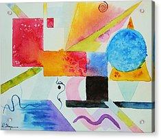 Kandinsky Dreaming Acrylic Print