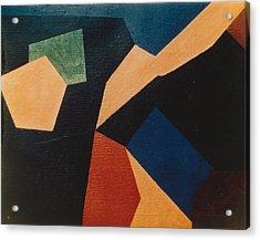 Kandinsky Homage 1972 Acrylic Print