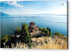 Kaneo - Ohrid Acrylic Print by Ivan Vukelic