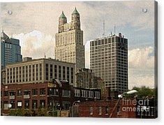 Kansas City - 03 Acrylic Print by Gregory Dyer