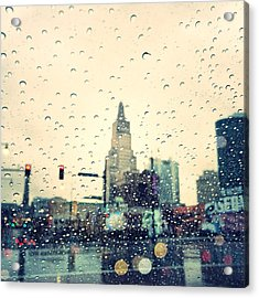 Kansas City #3 Acrylic Print by Stacia Blase