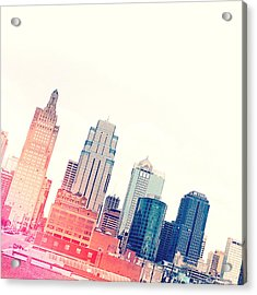 Kansas City #4 Acrylic Print by Stacia Blase