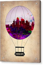 Kansas City Air Balloon Acrylic Print