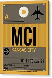 Kansas City Airport Poster 1 Acrylic Print