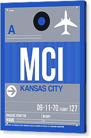 Kansas City Airport Poster 2 Acrylic Print
