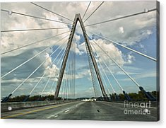 Kansas City Bridge - 01 Acrylic Print by Gregory Dyer