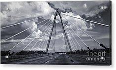 Kansas City Bridge - 02 Acrylic Print by Gregory Dyer