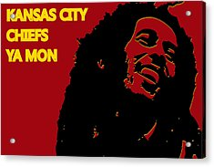 Kansas City Chiefs Ya Mon Acrylic Print
