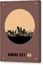 Kansas City Circle Poster 2 Acrylic Print