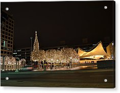 Kansas City Crown Center Acrylic Print
