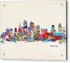 Kansas City Missouri Acrylic Print by Bri B