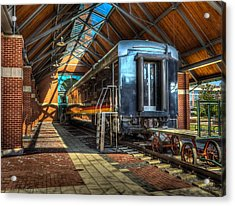 Acrylic Print featuring the photograph Kansas City Southern by Ross Henton