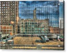 Kansas City Windows Acrylic Print by Ross Henton