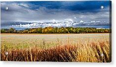 Kansas Fall Landscape Acrylic Print