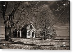Kansas Farm House I Acrylic Print