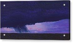 Kansas Lightning Storm Acrylic Print by Garry McMichael