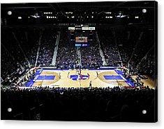 Kansas State Wildcats Fred Bramlage Coliseum Acrylic Print by Replay Photos