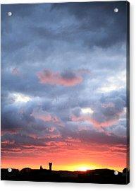 Kansas Sunset Acrylic Print