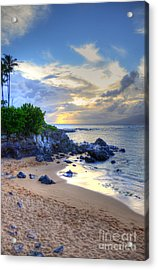 Kapalua Bay Acrylic Print by Kelly Wade