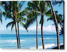 Kapalua Beach Acrylic Print