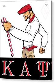 Kappa Alpha Psi Acrylic Print